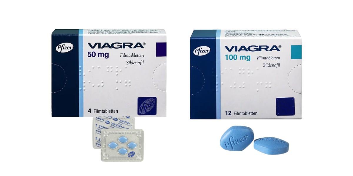 Viagra Verpackung von Pfizer